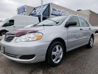 Used 2005 Toyota Corolla AUTOMATIC|VERY CLEAN|CERTIFIED for sale in Concord, ON