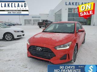 Used 2020 Hyundai Veloster Preferred  - $134 B/W for sale in Prince Albert, SK