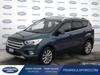 Used 2018 Ford Escape Titanium - Leather Seats -  Bluetooth - $172 B/W for sale in Port Elgin, ON