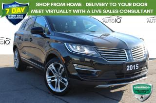 Used 2015 Lincoln MKC 2.3L , PANORAMIC SUNROOF, AWD, NAVIGATION for sale in Hamilton, ON