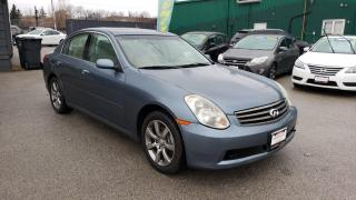 Used 2006 Infiniti G35 Luxury for sale in Burlington, ON