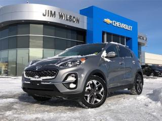 Used 2020 Kia Sportage EX Tech AWD ROOF NAV LEATHER HEATED STEERING WHEEL for sale in Orillia, ON