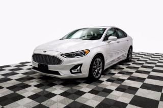 Used 2020 Ford Fusion Hybrid Titanium Sunroof Leather Adaptive Cruise Lane Keeping for sale in New Westminster, BC