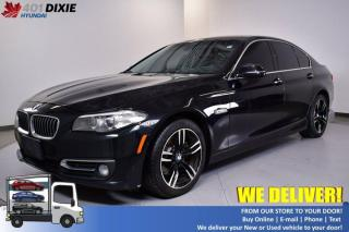 Used 2014 BMW 5 Series 528i xDrive for sale in Mississauga, ON