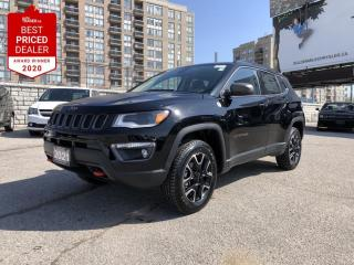 New 2021 Jeep Compass Trailhawk Premium leather-faced bucket seats,Sun and Sound Group, Bluetooth, Back up Camera for sale in North York, ON