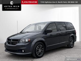 Used 2019 Dodge Grand Caravan GT No accidents, Back up cam, Heated seats and steering, Beautiful Leather Faced Seats with Red Stitchi for sale in North York, ON