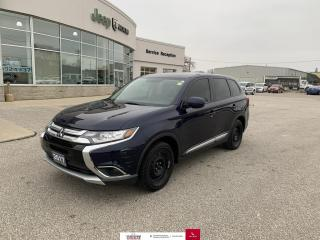 Used 2017 Mitsubishi Outlander ES Heated Seats/Back Up Cam/AWD for sale in Chatham, ON