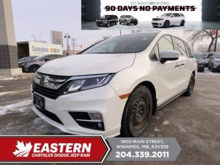 Used 2018 Honda Odyssey | 1 Owner | Sunroof | Backup Cam | for sale in Winnipeg, MB