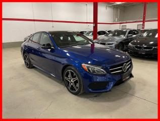 Used 2017 Mercedes-Benz C-Class C300 4MATIC NIGHT DISTRONIC BURMESTER PREMIUM PLUS for sale in Vaughan, ON