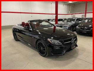 Used 2018 Mercedes-Benz C-Class C300 4MATIC NIGHT EDITION PREMIUM LED RED INT! for sale in Vaughan, ON