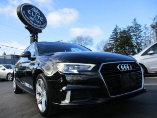 Used 2017 Audi A3 4dr Sdn FrontTrak 2.0T Komfort for sale in Burlington, ON