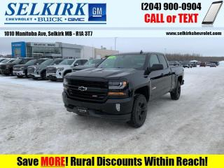 Used 2018 Chevrolet Silverado 1500 2LT  *RMT START, HTD SEATS* for sale in Selkirk, MB