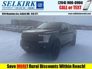 Used 2018 Ford F-150 XLT  *LEVEL, OFF-ROAD TIRES* for sale in Selkirk, MB