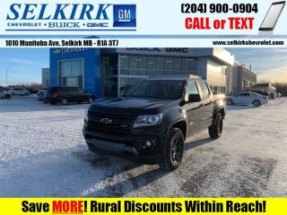 New 2021 Chevrolet Colorado Z71 for sale in Selkirk, MB