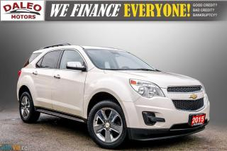 Used 2015 Chevrolet Equinox LT / REMOTE START / HEATED SEATS / BACK UP CAM / for sale in Hamilton, ON