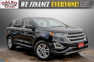 Used 2015 Ford Edge SEL / LEATHER / REMOTE START / PANO ROOF / LOADED for sale in Hamilton, ON