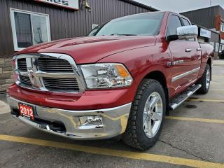 Used 2012 RAM 1500 Big Horn-4x4-5.7L V8-TOW PKG-TONNEAU COVER for sale in Tilbury, ON