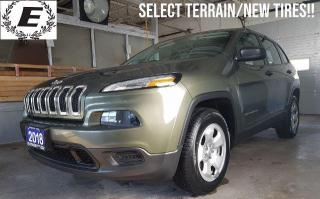 Used 2018 Jeep Cherokee Sport SELECT TERRAIN/NEW TIRES!! for sale in Barrie, ON