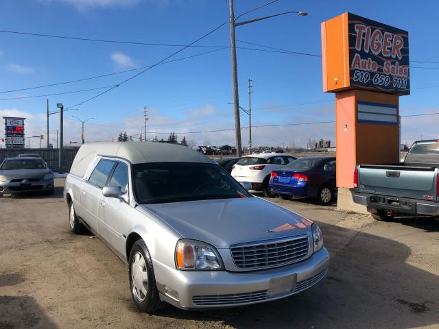 2002 Cadillac DeVille COACH FUNERAL HEARSE**ONLY 128KM*GREAT SHAPE*AS IS
