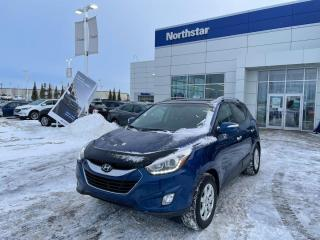 Used 2014 Hyundai Tucson LTD/2SETSOFTIRES/2WAY/1OWNER/NAV/LEATHER/PANOROOF/HEATEDSEATS/BACKUPCAM for sale in Edmonton, AB