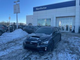 Used 2015 Subaru WRX STI SPORT/LEATHER/SUNROOF/BACKUPCAM/MANUAL for sale in Edmonton, AB