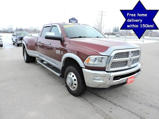 2016 RAM 3500 Laramie Diesel 4X4 New tires Navigation