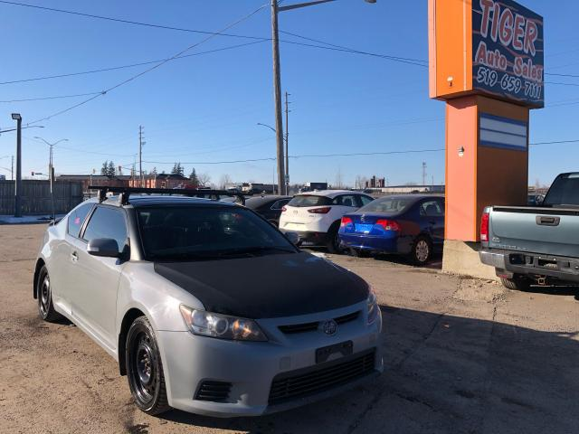 2011 Scion tC **LEATHER**ROOF**MANUAL**4 CYLINDER**AS IS SPECIAL