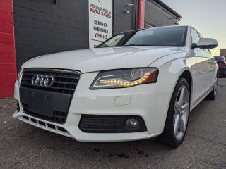 Used 2012 Audi A4 2.0T Premium Plus for sale in Burlington, ON