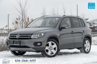 Used 2015 Volkswagen Tiguan Special Edition|Navi|Roof|Push start| for sale in Bolton, ON
