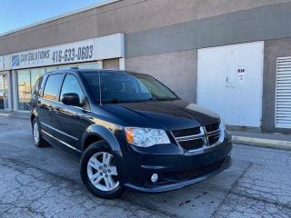Used 2014 Dodge Grand Caravan CREW-NAVI-DVD-SNROOF-LEATHER for sale in Toronto, ON