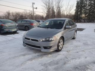 Used 2013 Mitsubishi Lancer ES10th Anniversary Edition Power Sunroof CERTIFIED for sale in Stouffville, ON