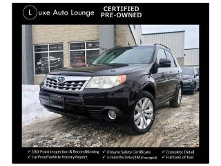 Used 2013 Subaru Forester 2.5x Limited, LEATHER, NAV, HEATED SEATS!! for sale in Orleans, ON