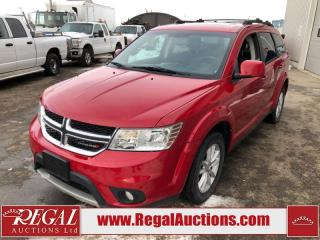Used 2015 Dodge Journey SXT 4D Utility 7PASS 2WD 3.6L for sale in Calgary, AB