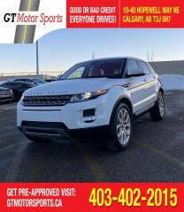 Used 2012 Land Rover Range Rover Evoque Pure Plus  | $0 DOWN - EVERYONE APPROVED! for sale in Calgary, AB