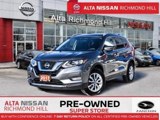 Used 2017 Nissan Rogue SV AWD   Remote Strt   Push Strt   Back-UP CAM for sale in Richmond Hill, ON