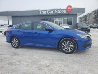 Used 2017 Honda Civic Sedan EX SUNROOF Lane Depart Rear CAM Adapt Cruise for sale in Winnipeg, MB