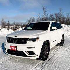 Used 2019 Jeep Grand Cherokee High Altitude 4x4 for sale in Kapuskasing, ON