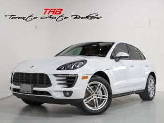 Used 2018 Porsche Macan S I PREMIUM PKG. PLUS I PANO I NAVI I RED LEATHER for sale in Vaughan, ON
