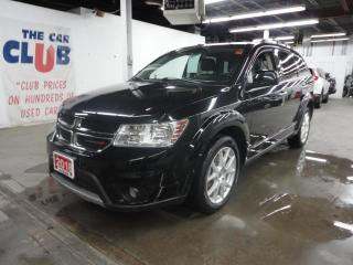 Used 2018 Dodge Journey GT AWD 7 PASSENGER W/ HEATED LEATHER SEATS for sale in Ottawa, ON
