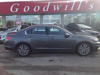 Used 2012 Honda Accord Sedan EX-L! CLEAN CARFAX! HEATED LEATHER! BLUETOOTH! for sale in Aylmer, ON