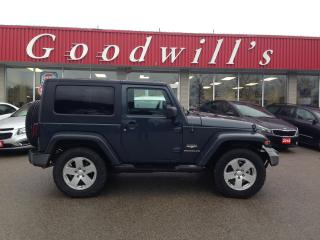 Used 2007 Jeep Wrangler SAHARA! REMOTE START! TWO TOPS!!!!! for sale in Aylmer, ON