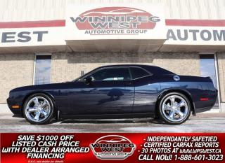 Used 2012 Dodge Challenger R-T SUPERCHARGED HEMI , MANY MODS, FLAWLESS,600+HP for sale in Headingley, MB