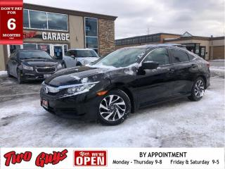 Used 2016 Honda Civic Sedan EX   Sunroof   Auto   New Tires   Remote Start   for sale in St Catharines, ON