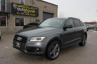 Used 2017 Audi Q5 AWD/S-LINE/TECHNIK PKG/8-SPEED TRIPTONIC/PANAROOF for sale in Newmarket, ON