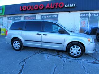 Used 2012 Dodge Grand Caravan SE 3.6L 7 Passenger Auto Certified for sale in Milton, ON