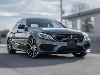 Used 2017 Mercedes-Benz C-Class AMG C43 4MATIC|RED INT | NAV |PANOROOF|HEADSUP for sale in North York, ON