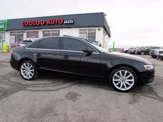 Used 2014 Audi A4 2.0T Premium Sedan Quattro 6 Speed Manual Certified for sale in Milton, ON