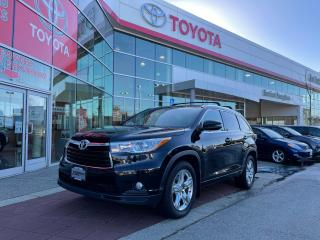 Used 2015 Toyota Highlander LIMITED  for sale in Surrey, BC