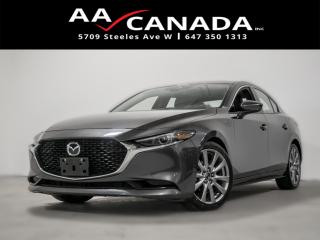 Used 2019 Mazda MAZDA3 GT|no accident| LEATHER|SUNROOF|BACK UP CAM|NAVI for sale in North York, ON