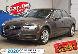 Used 2017 Audi A4 ONLY 46,000km | SUNROOF | SMART KEY | HEATED SEATS for sale in Ottawa, ON